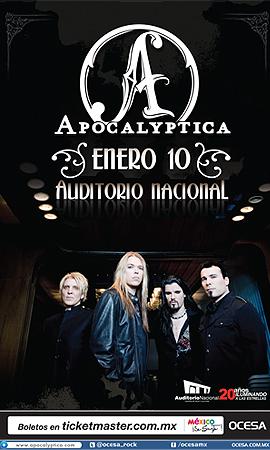 Apocalyptica Audiotorio Nacional