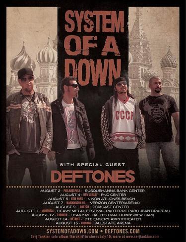 SystemOfaDown - Deftones