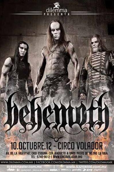 Behemoth en Mexico