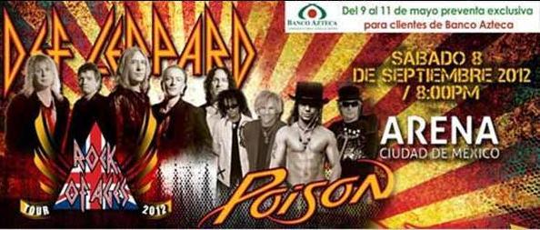 Def Leppard y Poison