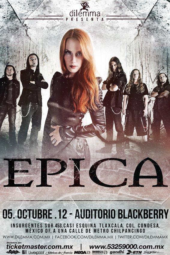 Epica - Mexico 2012