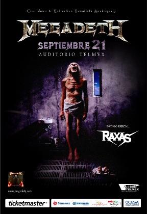 Megadeth en Guadalajara 2012