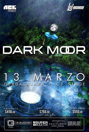 Dark Moor en Guadalajara, México 2016