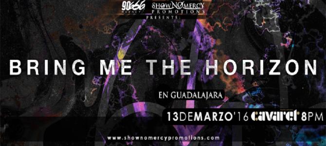 Bring Me The Horizon en Guadalajara, México 2016