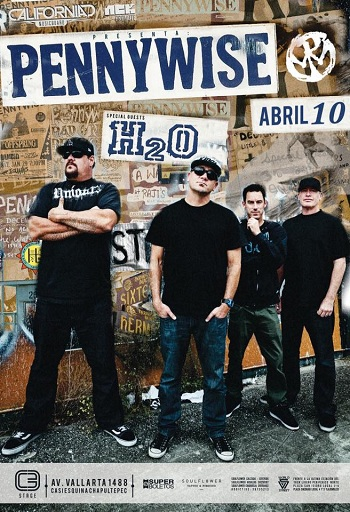 Pennywise en Guadalajara, 2016