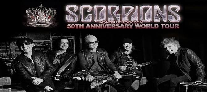 Scorpions en Guadalajara, México 2016