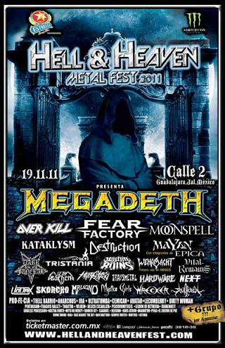 Hell and Heaven 2011