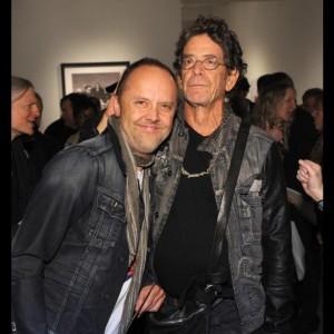 Lars y Lou Reed