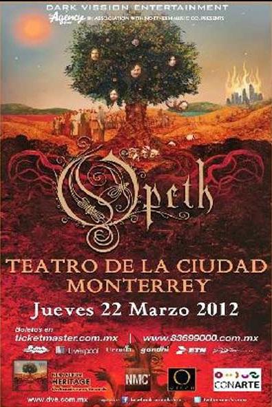 Opeth - Monterrey