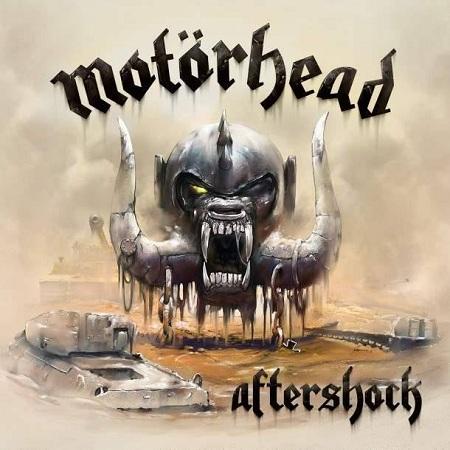 """Portada de """"Aftershock"""" nuevo disco de Motörhead"""