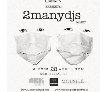 2manydjs en Guadalajara, México 2016