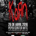 Korn en Distrito Federal, México 2016