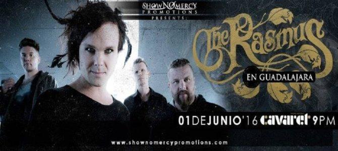 The Rasmus en Guadalajara, México 2016