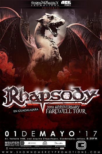 Rhapsody en Guadalajara, 2017