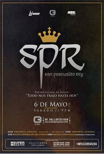 San Pascualito Rey en Guadalajara, México 2017