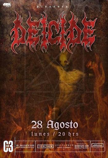 Deicide en Guadalajara, México 2017