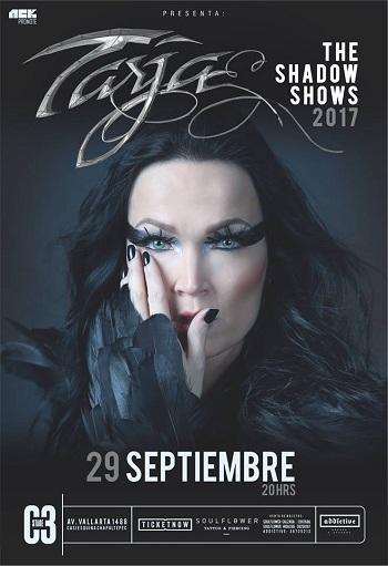 Tarja Turunen en Guadalajara