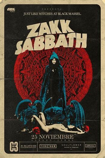 Zakk Sabbath en Guadalajara, México 2017